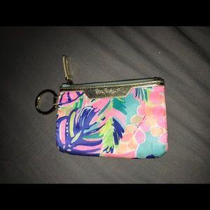 Lilly Pulitzer Keychain Wallet